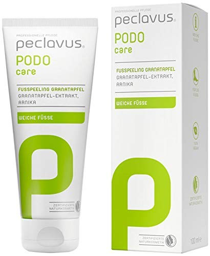 PECLAVUS PODOcare Fußpeeling Granatapfel 100ml