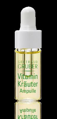 GERTRAUD GRUBER Vitamin Kräuter Ampulle 3x4ml