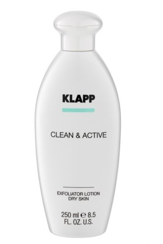 Klapp Clean & Active Exfoliator Lotion Dry Skin 250 ml