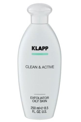Klapp Clean & Active Exfoliator Oily Skin 250 ml
