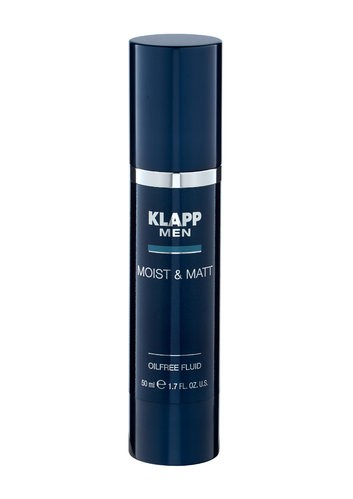 Klapp Men Moist & Matt - Oilfree Fluid 50 ml
