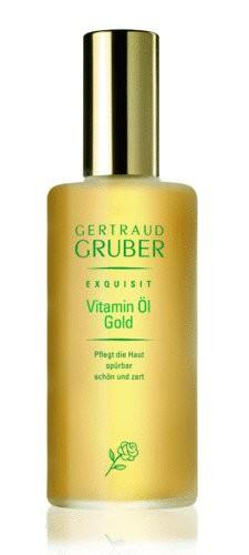 GERTRAUD GRUBER Exquisit Vitamin Öl Gold 100 ml