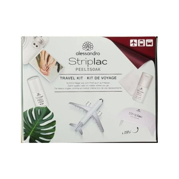 alessandro Striplac Peel or Soak Travel Set- LED-Nagellack Set für die Reise