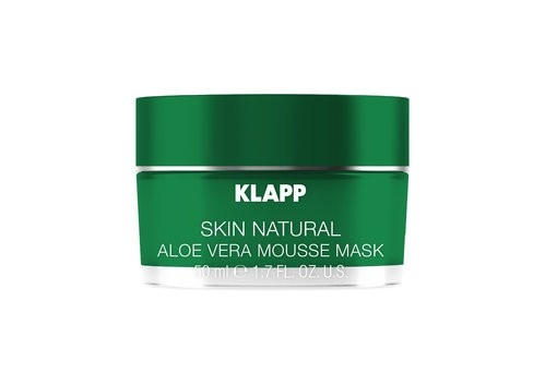 Klapp Skin Natural Aloe Vera Mousse Mask 50 ml